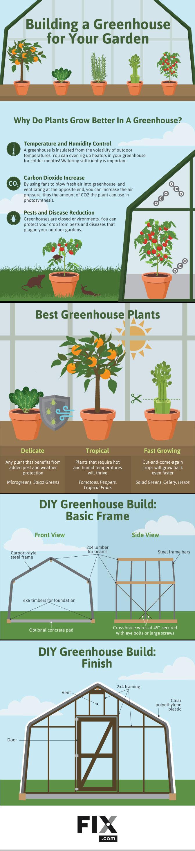 greenhouse infographic