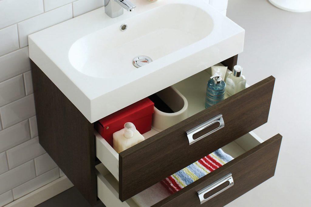 Stylish bathroom storage solutions and vanity units - Bathroom vanity storage solutions ...