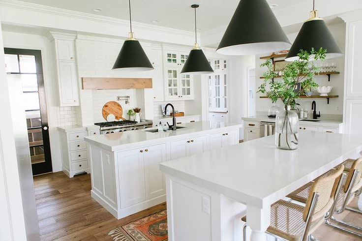 kitchen with quartz counters